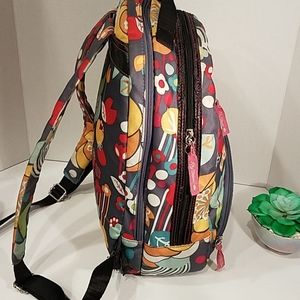 Lily Bloom Bags - ☂️ Lily Bloom Backpack Green Living Colorful